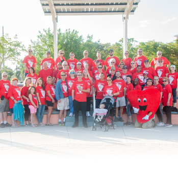 Heart Walk with Roger D. Eaton, Clerk of the Circuit Court and County Comptroller and Clerk Team Participants